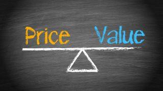 価格と価値の比較